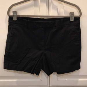 "Ann Taylor Black 4"" inseams Shorts"
